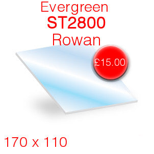 Evergreen ST2800 Rowan - 170mm x 110mm