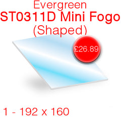 Evergreen ST0311D Mini Fogo (Shaped) Stove Glass