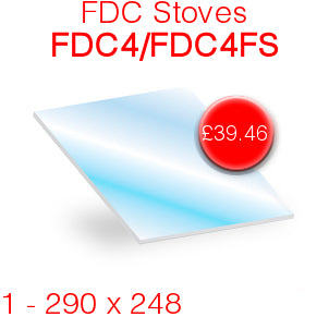 FDC Stoves FDC4/FDC4FS - 290mm x 248mm