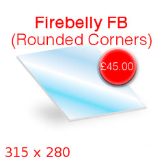 Firebelly FB (Rounded Corners) Stove Glass