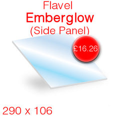 Flavel Emberglow (Side Panel) Stove Glass