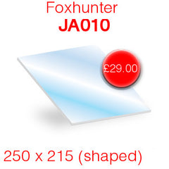 Foxhunter JA010 replacement stove glass