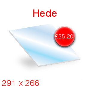 Hede Stove Glass - 291mm x 266mm