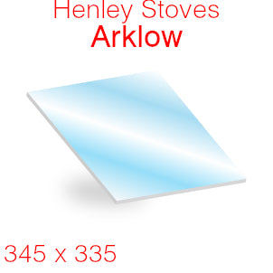Henley Stoves Arklow Stove Glass - 345mm x 335mm
