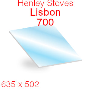Henley Stoves Lisbon 700 Stove Glass - 635mm x 502mm