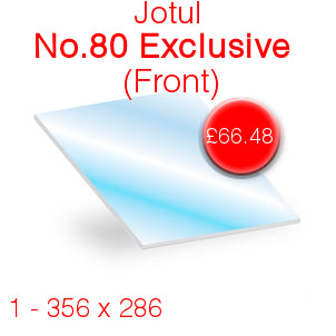 Jotul No.80 Exclusive (Front) Stove Glass - 356mm x 286mm