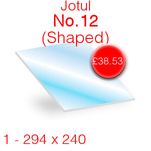 Jotul No.12 - 294mm x 240mm (Shaped)