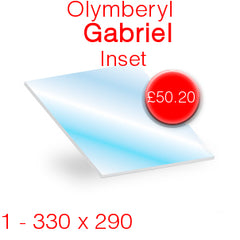 Olymberyl Gabriel Inset Stove Glass