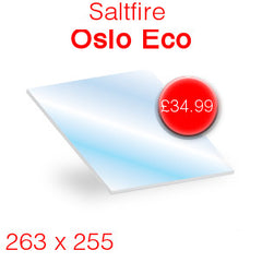 Saltfire Oslo Eco replacement stove glass
