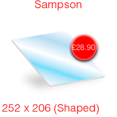 Sampson Stove Glass