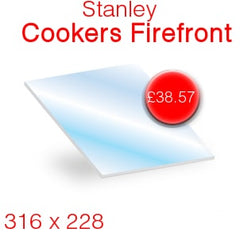 Stanley Cookers Firefront Stove Glass
