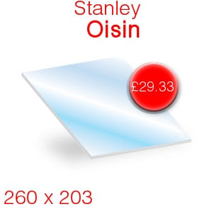 Stanley Oisin Stove Glass - 260mm x 203mm