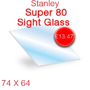 Stanley Super 80 Sight Glass - 74mm x 64mm