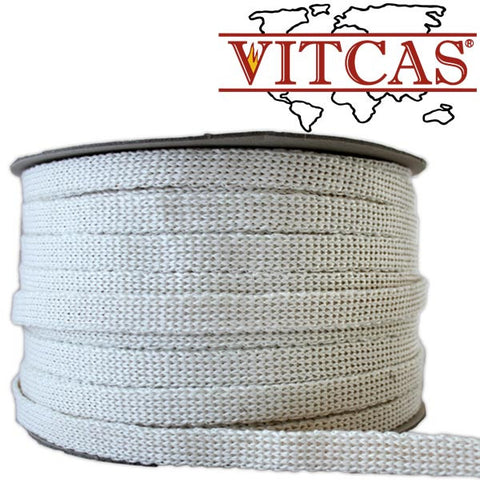 Vitcas glass bedding in tape - 2mm x 15mm x 2 meters (white)