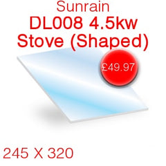 Sunrain DL008 4.5kw Stove Glass