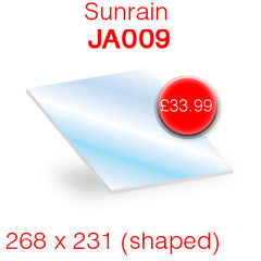 Sunrain JA009 replacement stove glass