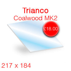 Trianco Coalwood MK2 Stove Glass