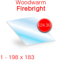 Woodwarm Firebright Stove Glass