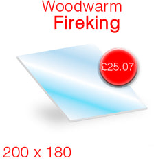 Woodwarm Fireking Stove Glass