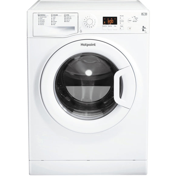 Hotpoint ECF87BPUK tumble dryer, freestanding, white