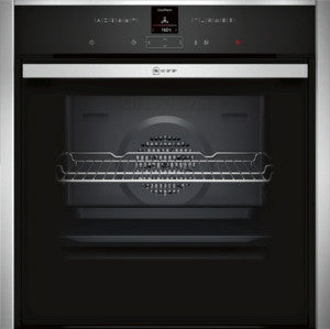 Neff B57CR22N1B single oven, built in, pyrolytic cleaning.