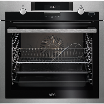 AEG BCS552020M SINGLE OVEN, BUILT IN, STEAM BAKE