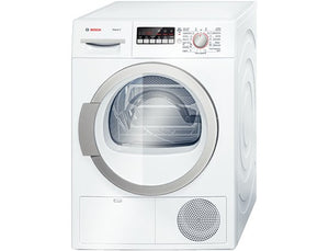 BOSCH WTB86590GB FREESTANDING CONDENSER DRYER - WHITE