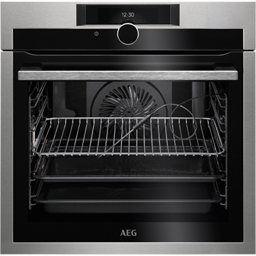 AEG BPE842720M SINGLE OVEN, BUILT IN, PYROLYTIC