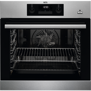 AEG BPS351220M SINGLE OVEN, BUILT IN, PYROLYTIC & STEAMBAKE