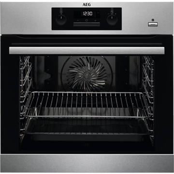 AEG BPS351020M SINGLE OVEN, BUILT IN, PYROLYTIC