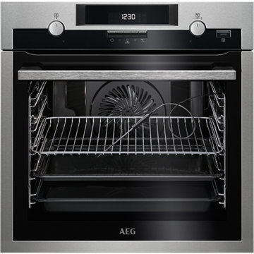 AEG BPS552020M SINGLE OVEN, BUILT IN, PYROLYTIC