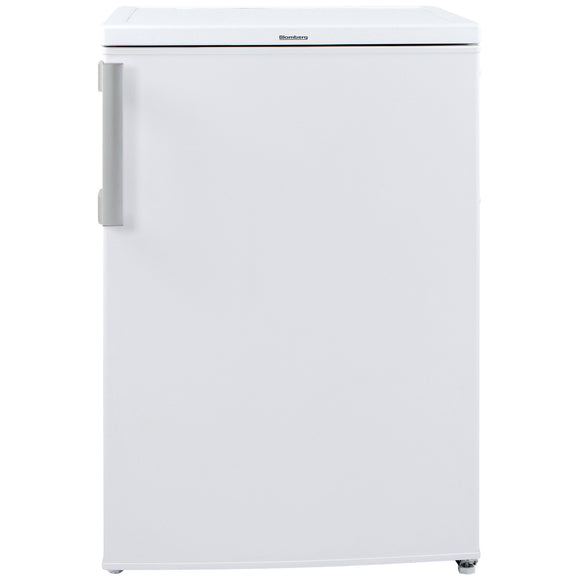 Blomberg FNE1531P 55cm Frost Free Undercounter Freezer, freestanding, white.