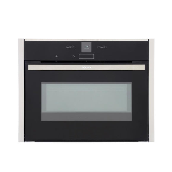 Neff C17MR02N0B compact combination oven and microwave, built in.