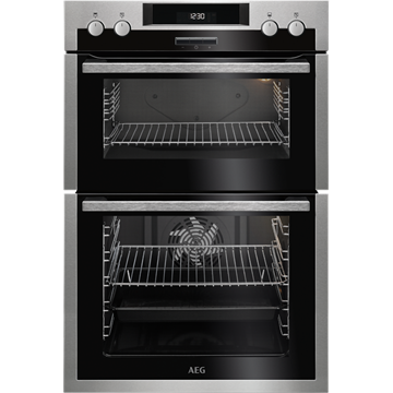 AEG DCS431110M DOUBLE OVEN, BUILT IN.