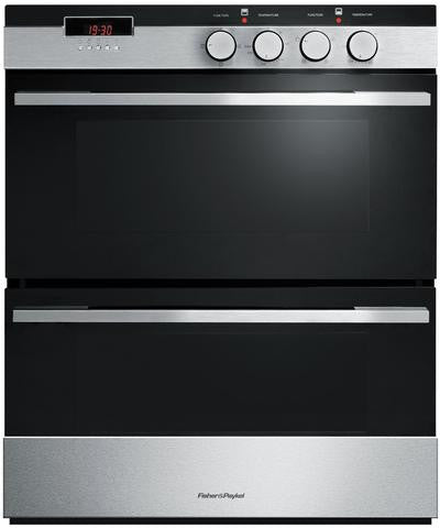 FISHER & PAYKEL OB60HDEX3 60cm Double Built-under Oven – 4 Function