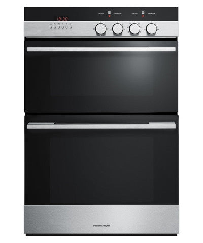 FISHER & PAYKEL OB60BCEX4 60cm Double 7 Function Built-in Oven