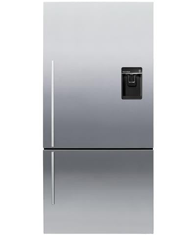 FISHER & PAYKEL E522BRXFDU4 ActiveSmart™ Fridge - Bottom Freezer with Ice & Water 469L