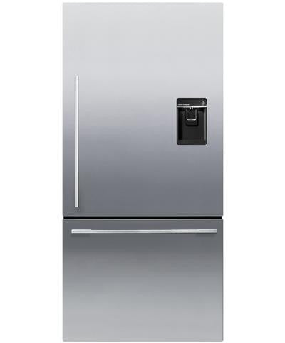 FISHER & PAYKEL RF522WDRUX4 ActiveSmart™ Fridge Freezer 79cm wide with Ice & Water 445L