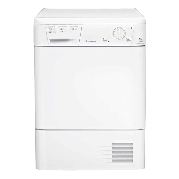 Hotpoint CDN7000BP Condenser tumble dryer, white