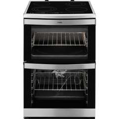 AEG 49176V-MN cooker with ceramic hob, freestanding