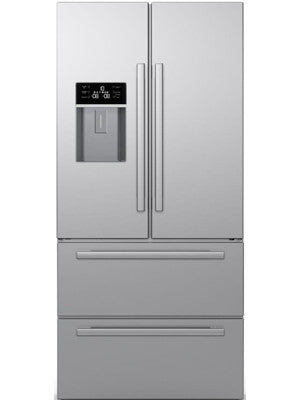 Blomberg KFD4952XD AMERICAN STYLE fridge freezer, STAINLESS STEEL