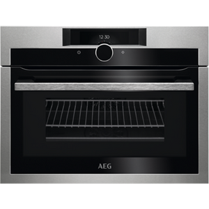 AEG KME861000M COMPACT COMBINATION MICROWAVE OVEN, BUILT IN