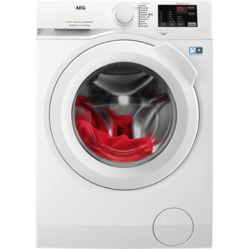 AEG L6FBI861N WASHING MACHINE, WHITE