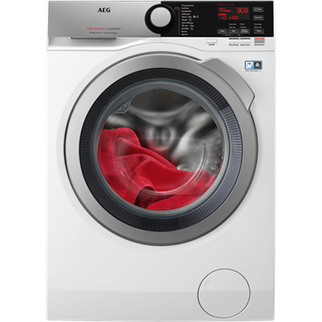 AEG L7FEE965R WASHING MACHINE, WHITE