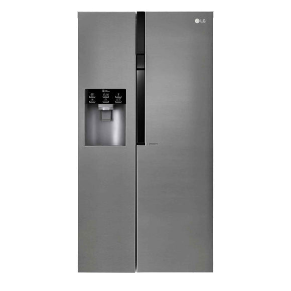 LG GSL361ICEZ AMERICAN STYLE FRIDGE FREEZER, STAINLESS STEEL