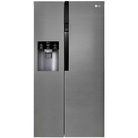 LG GSL360ICEV AMERICAN STYLE FRIDGE FREEZER, STAINLESS STEEL