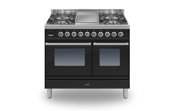 ILVE ROMA 100 TWIN 4 BURNER GAS HOB AND FRY TOP