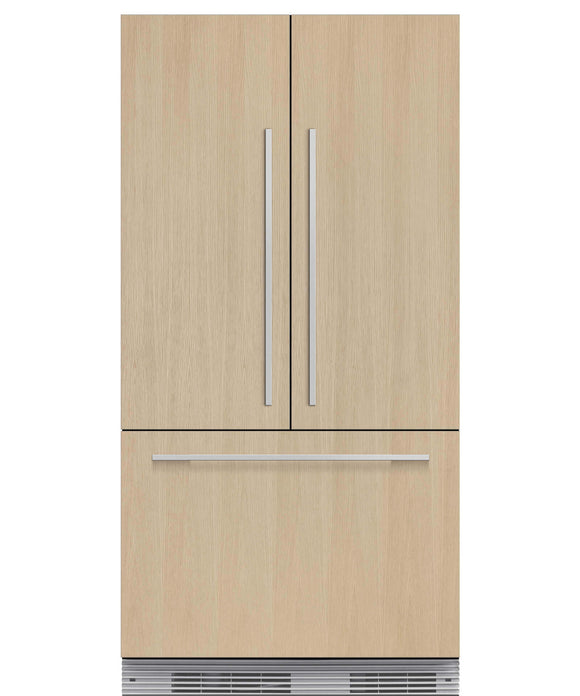 Fisher & Paykel RS90A1 Fridge Freezer, French door built-in.