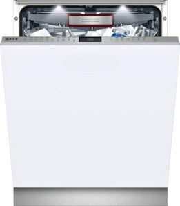 Neff S517T80DIG dishwasher, fully integrated.