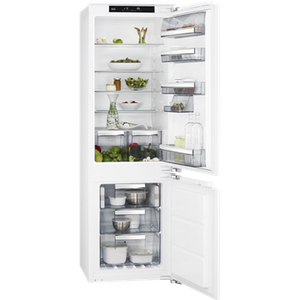 AEG SCE8182XNC FRIDGE FREEZER, INTEGRATED, WHITE
